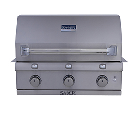 Saber Infrared 500 built in Gas BBQ Grill