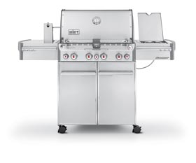 Weber Summit S-470 stainless steel Gas BBQ Grill