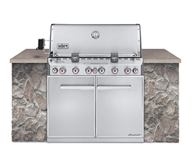 Weber Summit s-660 built in Gas BBQ Grill