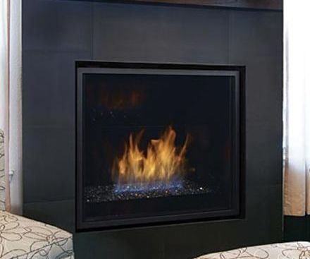 Regency HZ965E Gas Fireplace with black surround