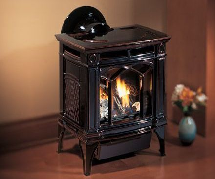 Regency H15 Cast iron brown gas stove