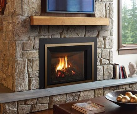 Regency LRI6E Gas Fireplace Insert in bronze