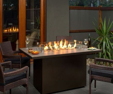 Regency PTO30IST Outdoor Gas Fireplace Firetable