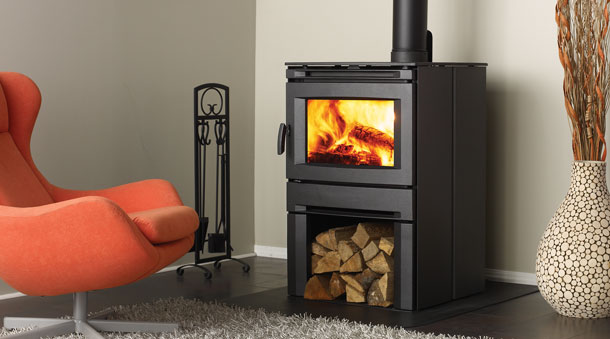 regency CS2400 modern wood stove fireplace
