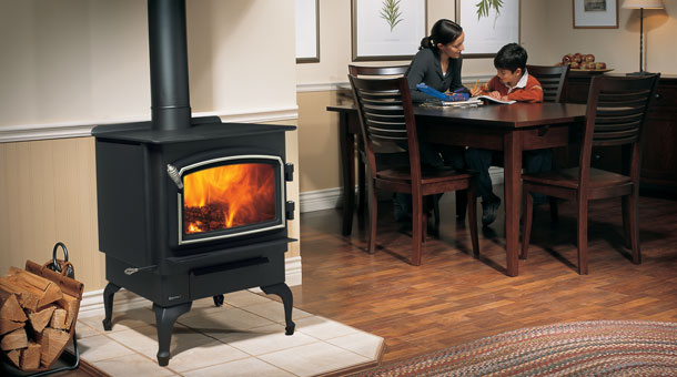 Regency F1100 Wood Stove Fireplace