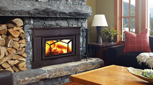 Regency HI400 hampton cast iron wood fireplace insert