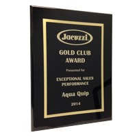 Jacuzzi hot tubs sales Award winner Aqua Quip